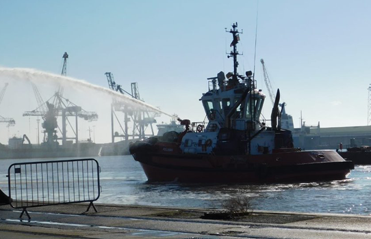 SMS Towage feature in ABP Humber Port Tour