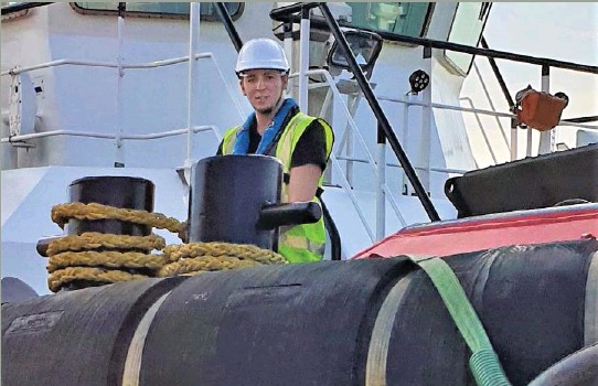 SMS Towage apprenticeship scheme in National Press