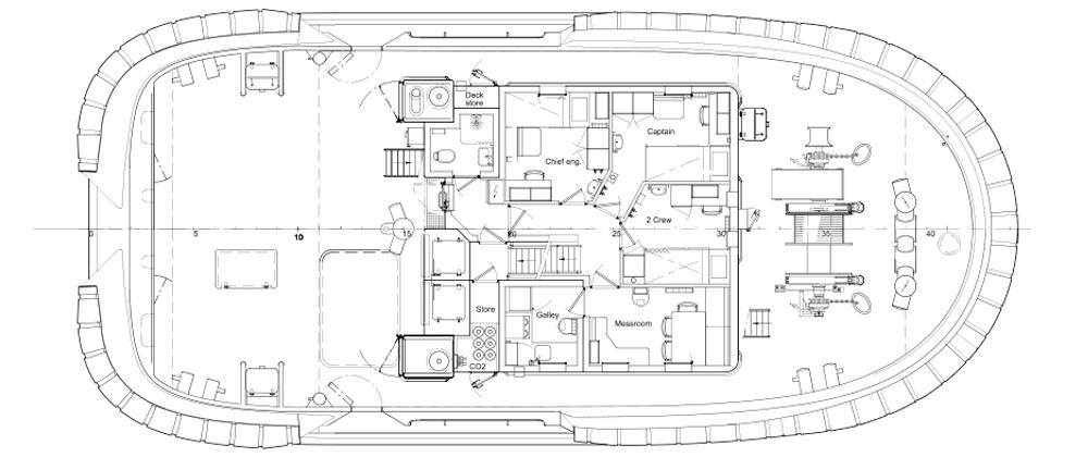 Marksman Main Deck