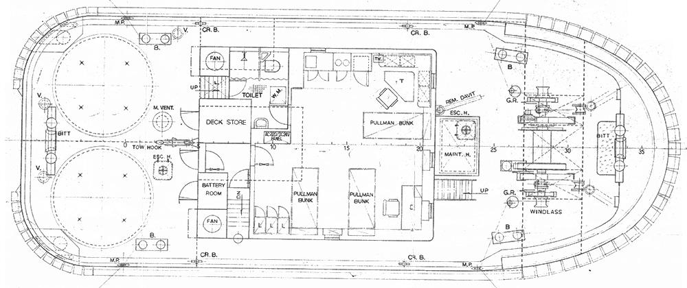 Tradesman Main Deck