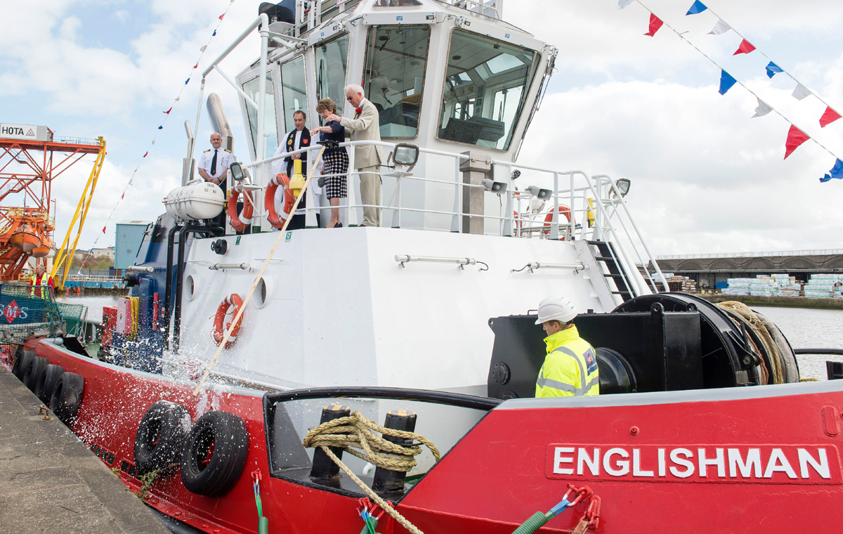 Press Release : 11th Englishman powers Humber 'big boys' into port