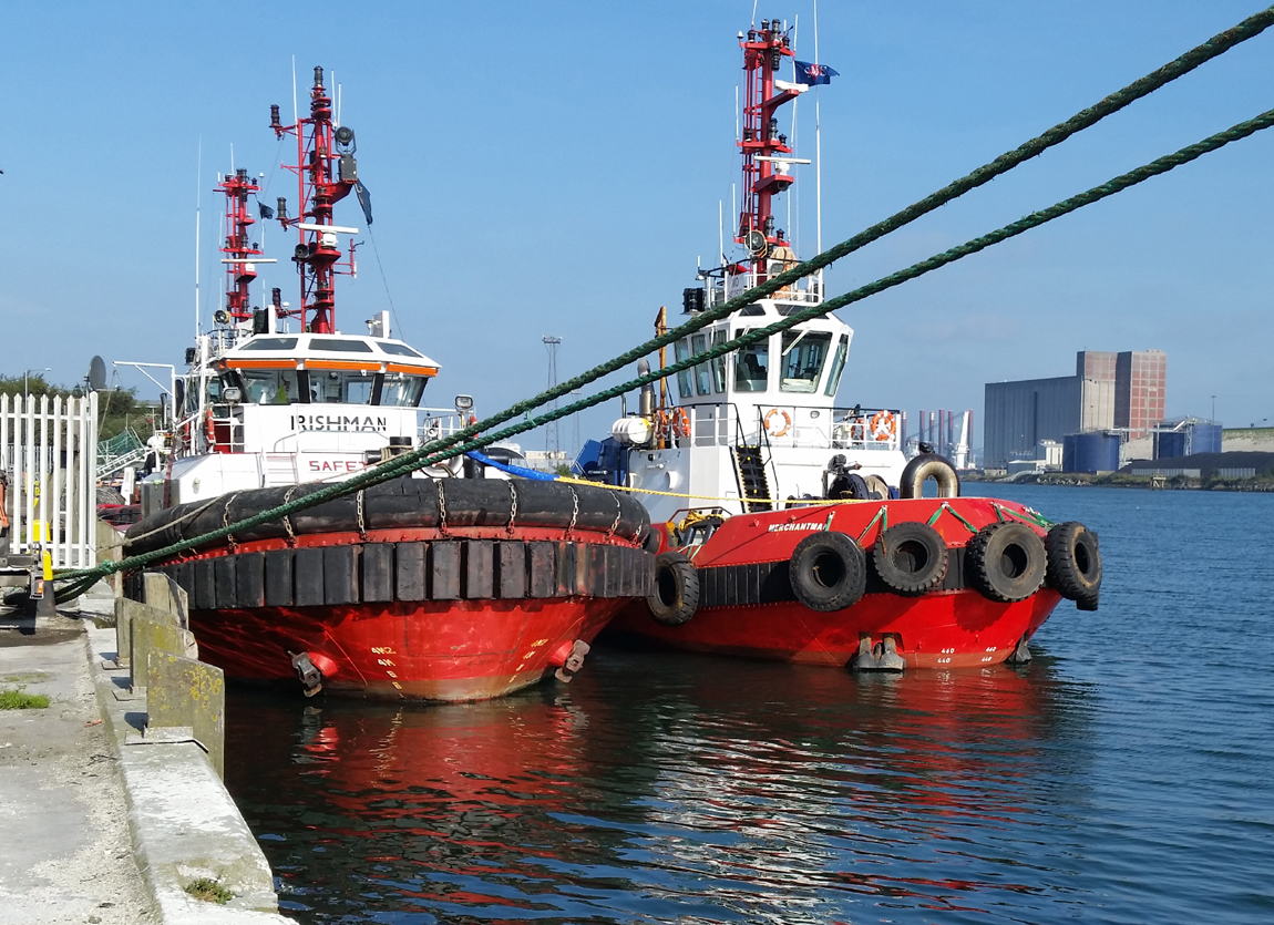 Press Release : New tug to Belfast in business boost for SMS Towage