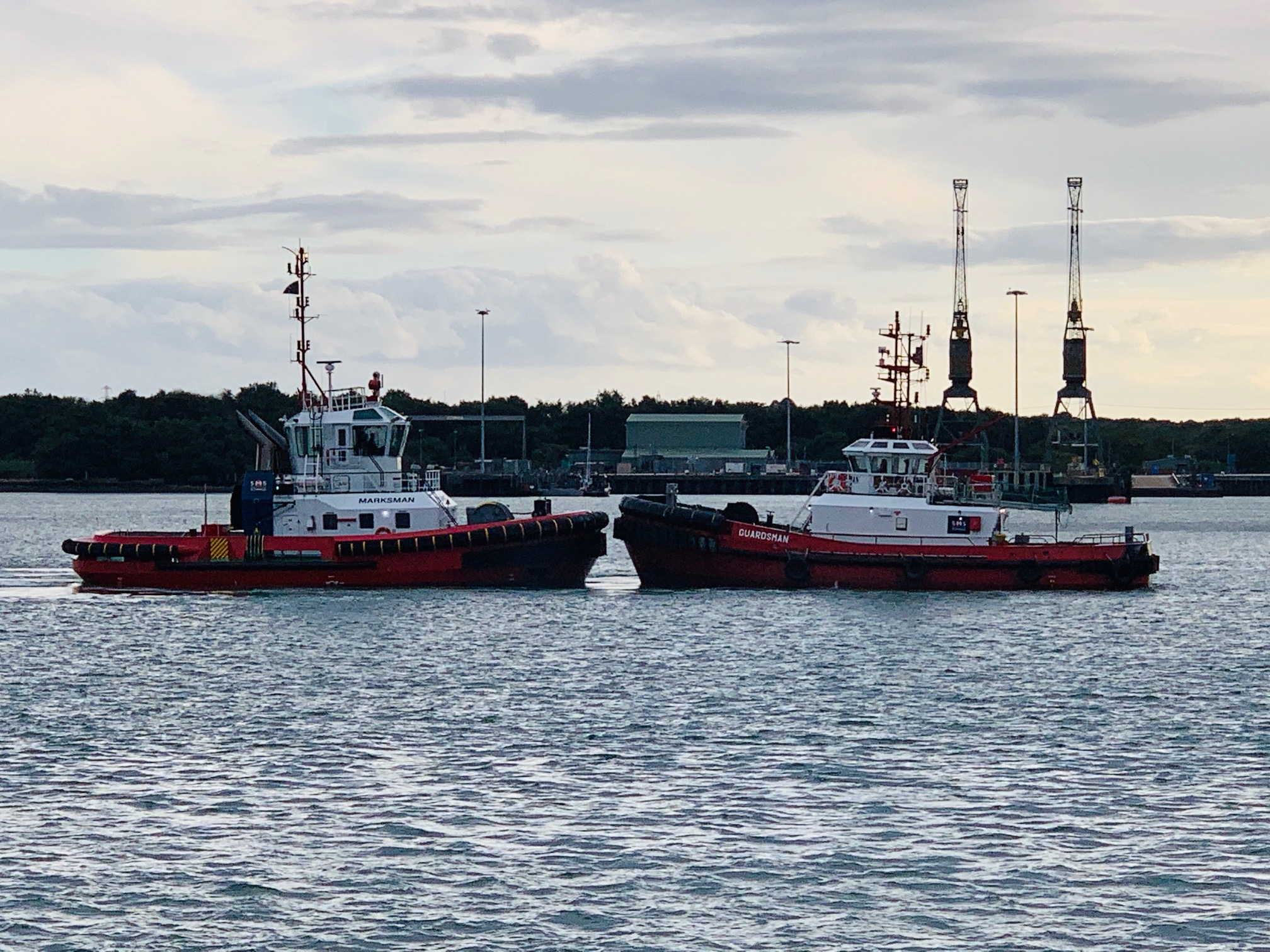 SMS Towage completes first job in Southampton